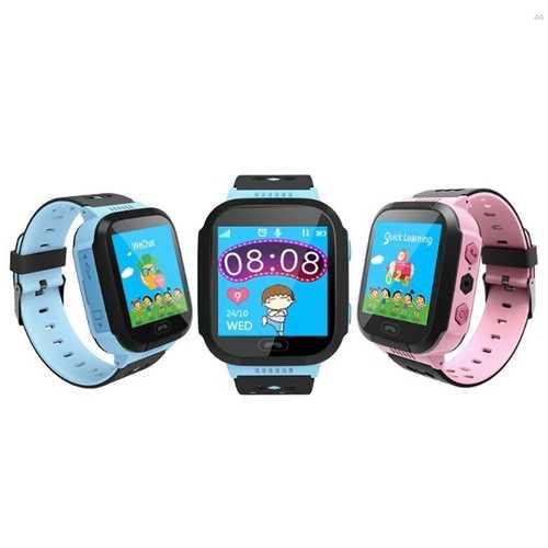 ENOCH Q528 Children Kid LBS SOS Call GPRS Location Device Tracker Flashlight Smart Watch