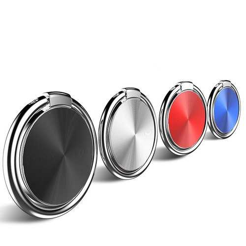 Bakeey Metal Multi-angle Rotation Finger Ring Holder Desktop Stand for iPhone Xiaomi Mobile Phone