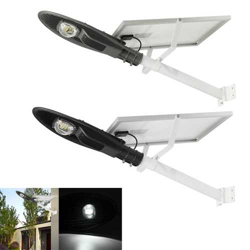 15W Solar Power Light-controlled Sensor LED Street Light Lamp With Pole Waterproof for Outdoor Road