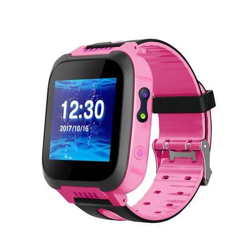 ENOCH Kids Smart Watch Touch Screen SOS Call GPRS Location Waterproof Camera Smart Wristband