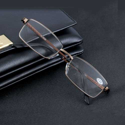Aluminum Alloy Reading Glasses Resin Lens Presbyopic Glasses