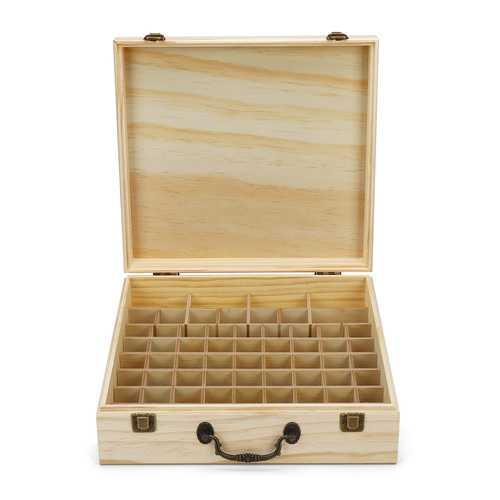 66 Slots Essential Oil & Lipstick Storage Box