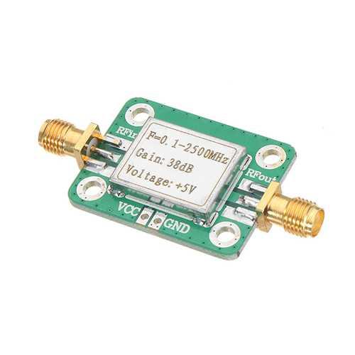 0.1-2500MHz 38dB Gain RF Microwave High Gain Amplifier