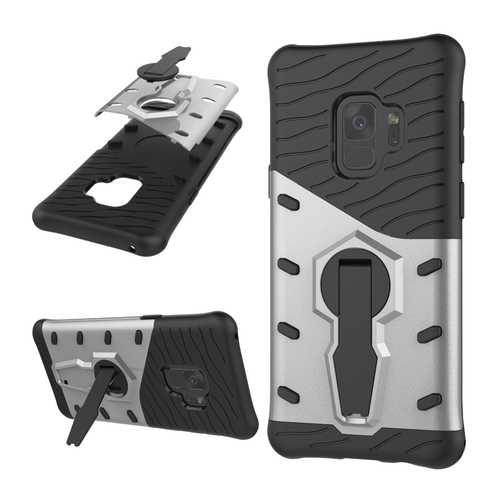 Bakeey™ Armor Rotating Kickstand PC TPU Protective Case for Samsung Galaxy S9