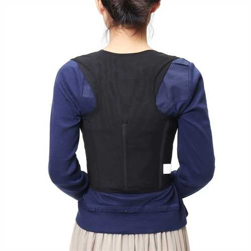 Plus Size Adjustable Posture Corrector Lumbar Support Brace