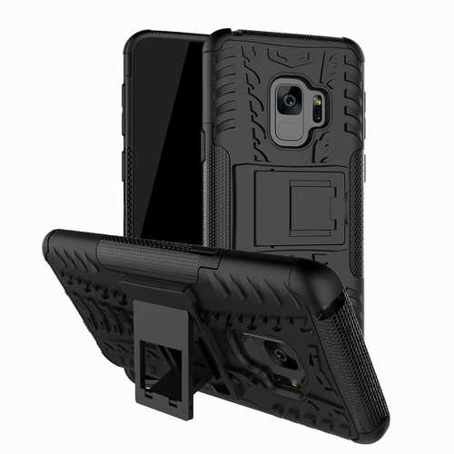 Bakeey™ 2 in 1 Armor Kickstand TPU PC Protective Case for Samsung Galaxy S9