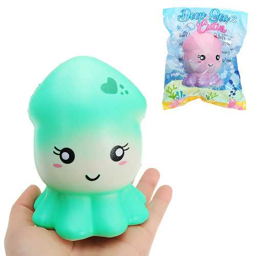 Cutie Creative Squid Squishy 15.5cm Slow Rising Original Packaging Collection Gift Decor Toy