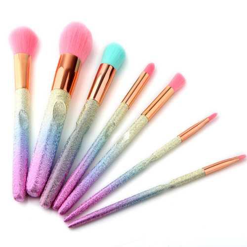 7Pcs 3D Makeup Brushes