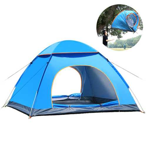 2-3Person Camping Tent Automatic  Instant Pop-up Portable Ultralight Hiking Picnic Sunshade