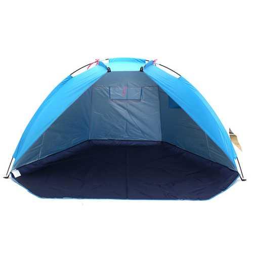 240 x 120 x 120cm Outdoor Beach Tent 2 Persons UV Protecting Ultralight Folding Fishing Sunshade