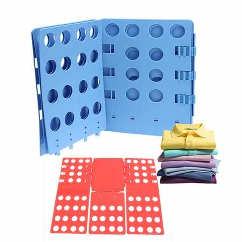 Clothes T-Shirt Folder Adult Magic Folding Board Flip Fold Laundry Organizer Folder Board