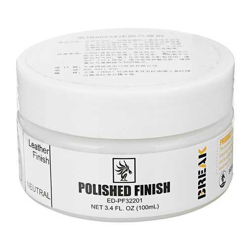 100g Colorless Polished Finish Dressing Tools Polishing Shoes Leather Edges Back Face Flat Smooth