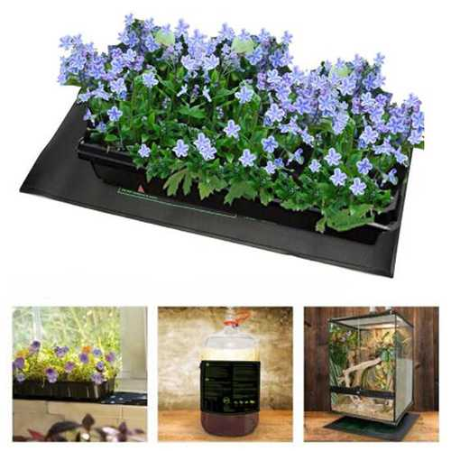 Garden 20 x10 Inch Seedling Heating Pads Germination Propagation Clone Reptile Starter Warm Mat