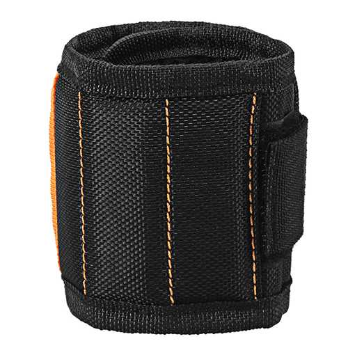 Hilda Magnetic Wristband with 15pcs Magnets Wrist Band for Holding Tools Wrist Bands Tool