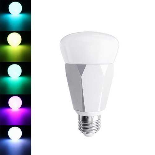 E27 7W 5730 SMD RGBW WiFi Timing Function Smart Light Bulb Work with Alexa Google Home AC85-265V