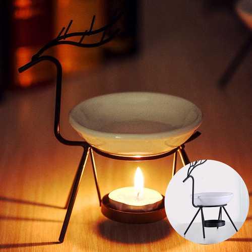 Aroma Furna Burner Candle Aromatherapy Oil Lamp