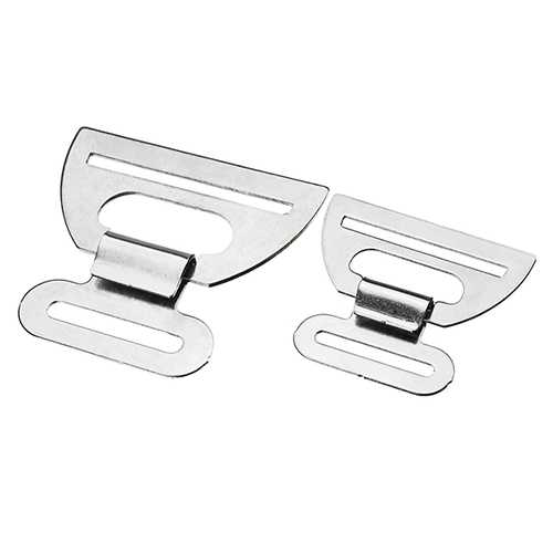 Special Hook For Motorcycle Kneepad Stainless Steel Anti Slip Connection Buckle