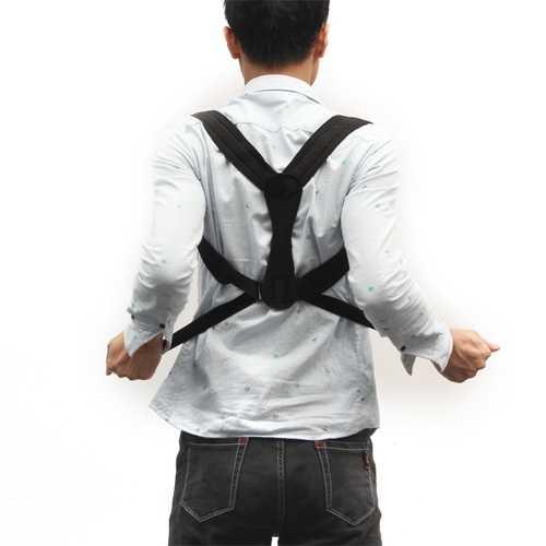 Unisex Adjustable Elastic Posture Corrector Hunchbacked Belt