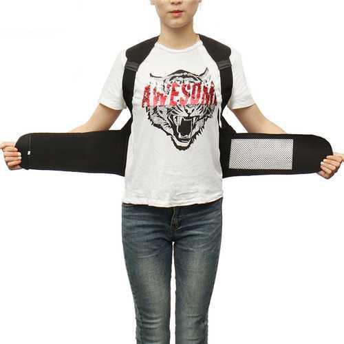 Unisex Adjustable Magnetic Posture Corrector Hunchbacked