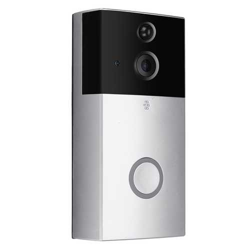 Smart Wireless WiFi Video Visible Doorbell Battery Motion Detection Recorder APP