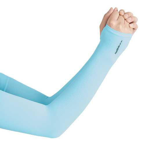 Naturehike NH18X001-T Icy UV Protection For Men And Women Sun Protection Cycling Driving Arm Sleeves