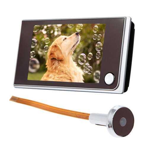 3.5inch Digital 120° Door Peephole Peep Hole Video Doorbell Viewer Camera Monitor