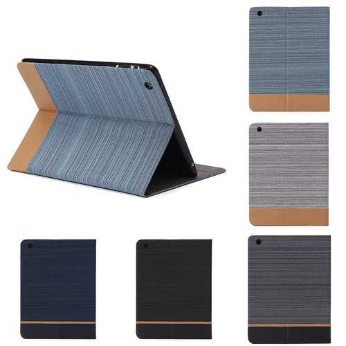 Business Canvas Shockproof Kickstand TPU Protective Case For iPad 2/3/4