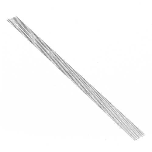 10PCS 2.4mm*50cm Metal Aluminium Low Temperature Welding Brazing Rod For Repair Tool