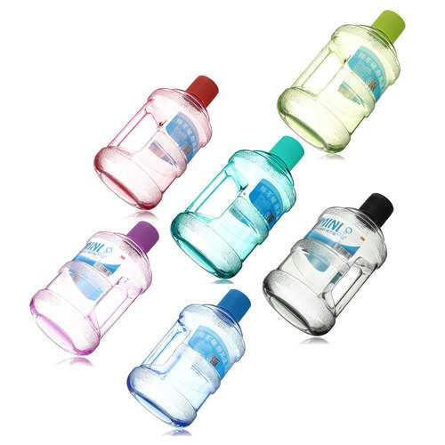 BIKIGHT 630ML Portable Mini Bucket Kettle Outdoor Sport Plastic Water Bottle