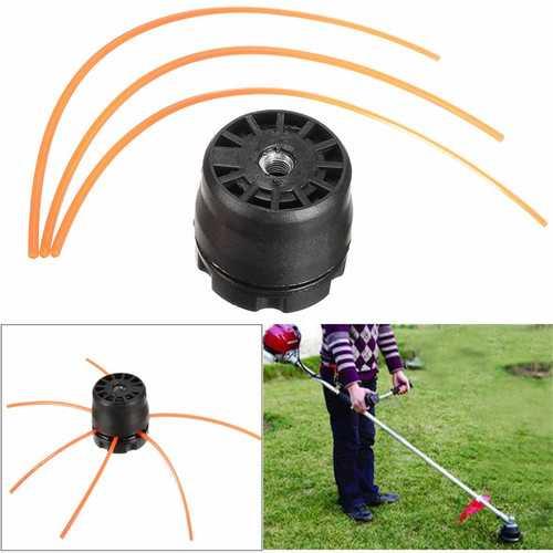 Universal Lawnmower Double Line Trimmer Head Bobbin Set KIT For Gasoline Brush Cutter Lawn
