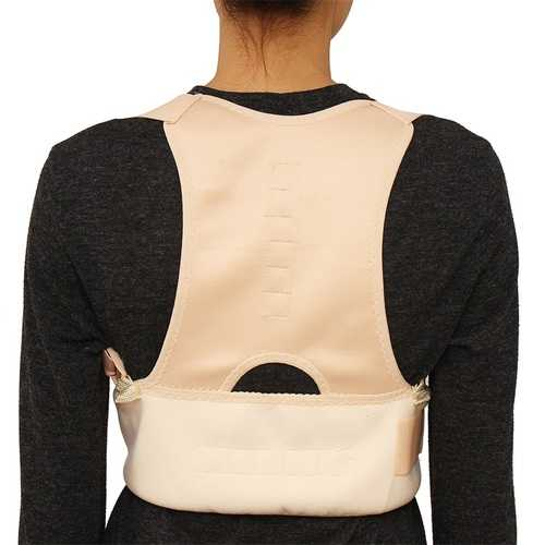 Plus Size Unisex Adjustable Posture Corrector Hunchbacked Support Lumbar Back Correction Belt
