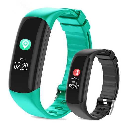 Bakeey P7 0.96inch Blood Pressure Heart Rate Sleep Monitor Fitness Tracker Sport Smart Wristband