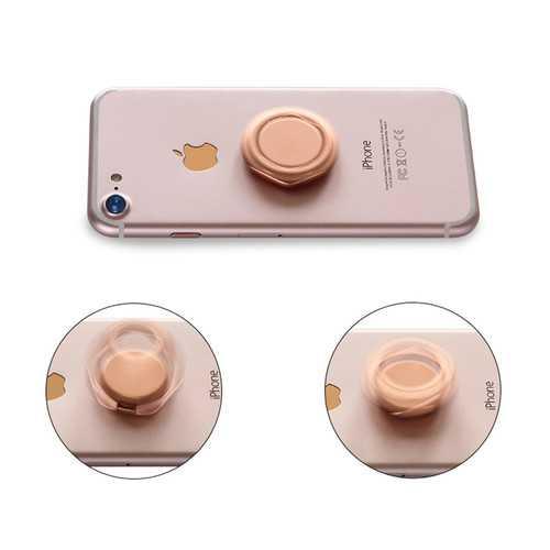 Bakeey Metal Fidget Spinner 360 Degree Rotation Desktop Phone Holder Finger Ring Stand for Xiaomi
