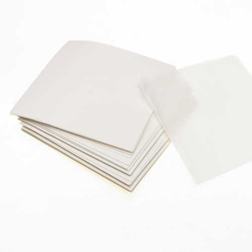 500Pcs 10x10cm Weighing Paper Sheet Non-Absorbing High Gloss Scale Weigh Paper