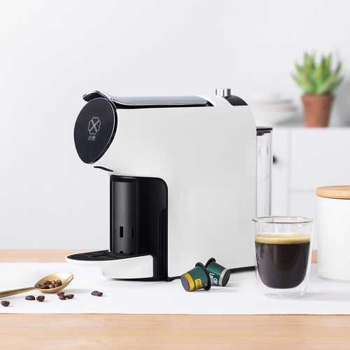 SCISHARE S1103 SCISHARE Smart Automatic Capsule Coffee Machine Extraction Electric Coffee Maker Kettle From Xiaomi Youpin