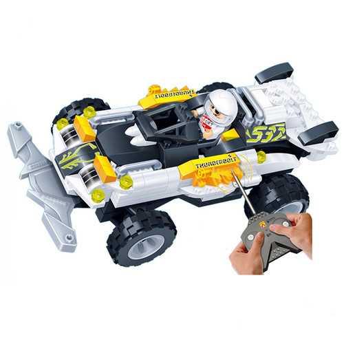 BanBao 8217 RC Racing Car Model 165 PCS Blocks Toyss Educational DIY Bricks RC Toys