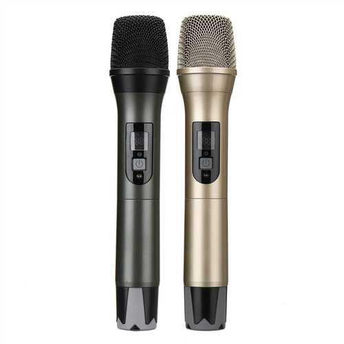 UHF USB FM Karaoke Handheld Microphone KTV Professional Player PC Mic Speaker