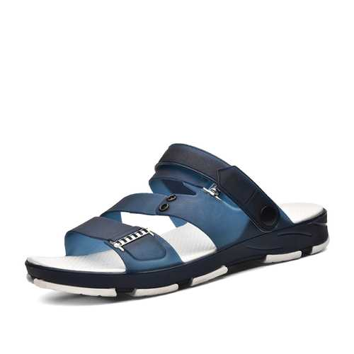 Men Casual Beach Slippers Sandals