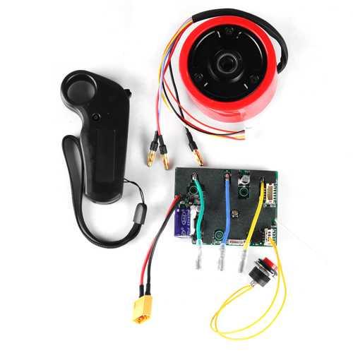 24V 150W Brushless Motor With Hall Sensor Remote Control For Skateboard