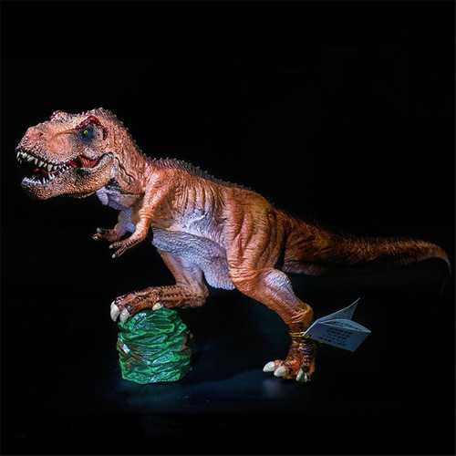 13 Inches SNAEN Tyrannosaurus Rex KING T-REX PAINTED PVC Dinosaur Model Action Figure