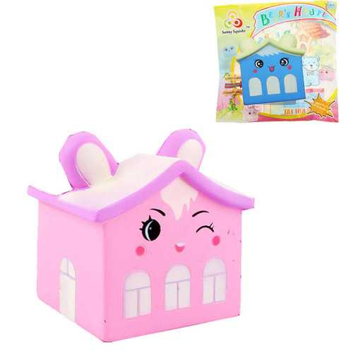 Sunny Squishy Bear House 8*11*8.5cm Slow Rising With Packaging Collection Gift Soft Toy