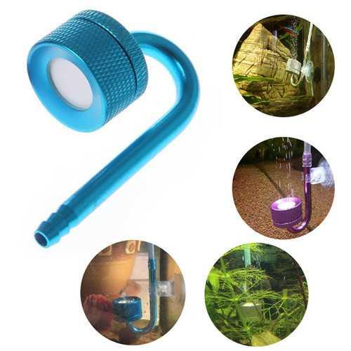 Aquarium CO2 Atomizer System Diffuser Carbon Dioxide Atomizer for Fish Tank Aquarium Aquatic Water