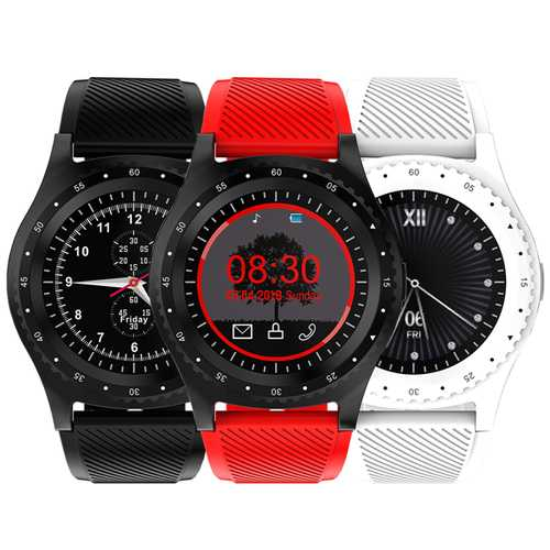 Bakeey L9 1.39inch MTK6261D Music Player GSM Phone Call TF Card Extend Camera Smart Watch