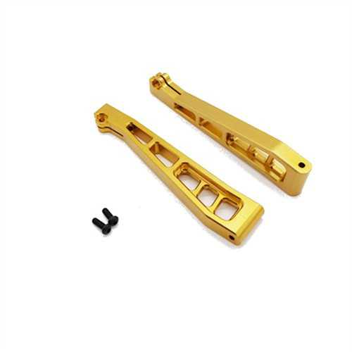 2PCS JLB 1/10 Rc Car Spare Parts Metal Upgrades Upper Arm No.EA1002 With Screw