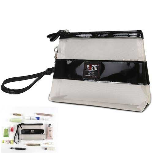 BUBM TSH Portable Toiletry Handbag Cosmetic Case Makeup Storage Bags Pouch Women Travel Kit Organizer