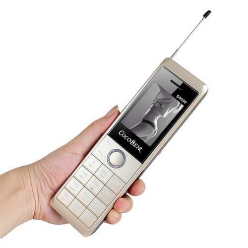 D9000 2.6'' 10000mAh Power Bank Flashlight Dual SIM Long Standby Retro Military Feature Phone