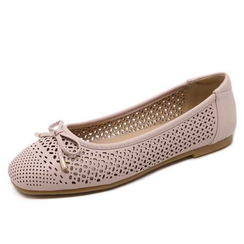 Casual Comfortable Shoes Butterfly Knot Flats Loafers