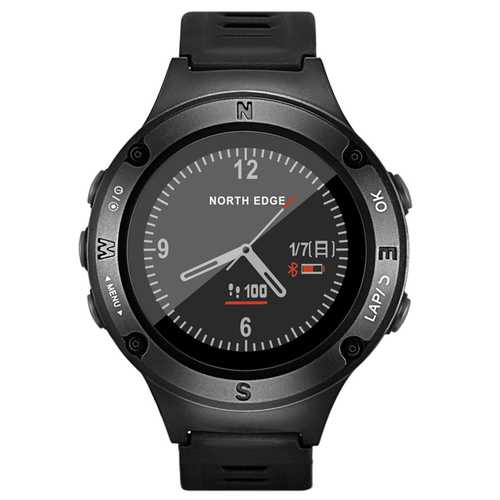 NORTH EDGE Fourier2 HR Monitor Compass Altimeter GPS Watch