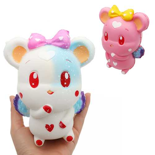 Cute Rabbit Squishy 13.6*9.8*8.4CM Slow Rising Collection Gift Soft Toy