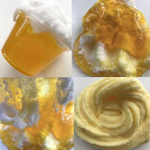 100ML Beer Crystal Brushed Mud Slime DIY Gift Toy Stress Reliever